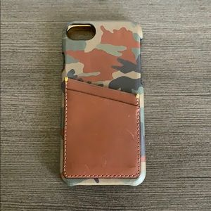 Fossil Wallet Case for iPhone 8
